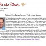 National Distributors Sponsor Motivational Speaker
