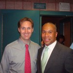 Scott and Governor Deval Patrick