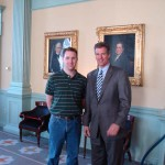 Scott Maloney & Senator Brown