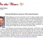 National Distributors Sponsor Motivational Speaker